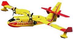 Противопожарен самолет - Canadair CL-415 - Сглобяем авиомодел -