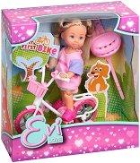 Еви с колело - играчка