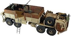 Военен камион - HEMTT Gun Truck - Сглобяем модел -