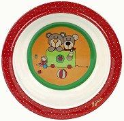 Детска меламинова купичка - Мечетата Wild и Berry -
