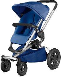 Комбинирана бебешка количка - Buzz Xtra - С 4 колела -