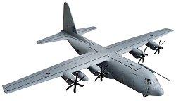 Военен самолет - C-130J C5 Hercules - Сглобяем авиомодел - макет