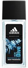 Adidas Men Ice Dive - Парфюмен спрей за тяло -