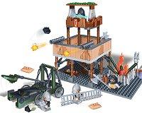 """Бойна кула - Детски конструктор от серията """"Black Sword"""" - играчка"""