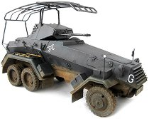 Военен автомобил - Sd.Kfz.232 6 RAD - Сглобяем модел -