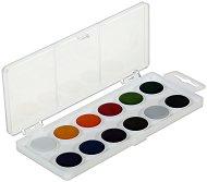 Анилинови водни бои - Палитра от 12 цвята -