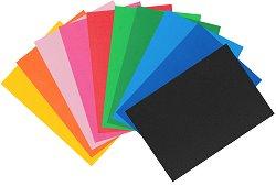 Самозалепващи листове EVA пяна - различни цветове - Комплект от 10 броя