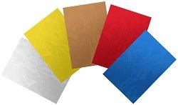 Алуминиево фолио - различни цветове - Комплект от 5 броя