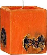 Парфюмна свещ с аромат на портокал и шоколад -