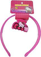 Диадема и шнола за коса - Hello Kitty -