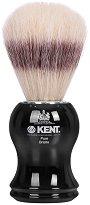 Четка за бръснене с косъм от глиган - Kent Visage - крем