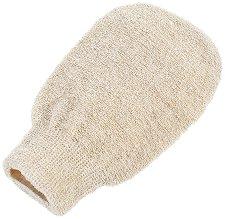 Ексфолираща ръкавица-масажор с коноп, лен и памук - продукт
