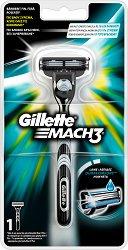 """Gillette Mach 3 Regular - Самобръсначка от серията """"Mach 3"""" - дезодорант"""