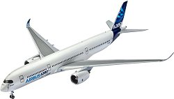 Пътнически самолет - Airbus A350 - Сглобяем авиомодел -