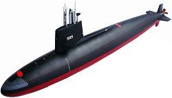 Подводница - Skipjack-Class - Сглобяем модел -