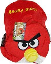 "Детска плюшена раничка - Red bird - От серията ""Angry Birds"" - играчка"