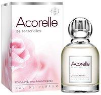"""Дамски парфюм с хармонизиращи свойства - Soft Rose EDP - От серията """"Acorelle Les Sensorielles"""" -"""