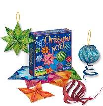 Оригами - Коледна украса - творчески комплект