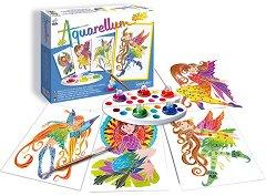 Оцветявай с акварелни бои - Нимфи - играчка