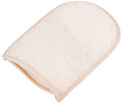 Ръкавица за баня с луфа и хавлиен гръб - дезодорант
