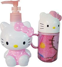 Комплект за баня - Hello Kitty -