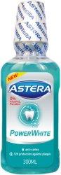 Astera Power White - Вода за уста с избелващо действие -