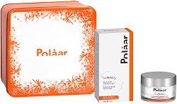 """Подаръчен комплект - Polaar Ice Perfect - Серум и крем за лице против ранни бръчки от серията """"Ice Perfect"""" -"""