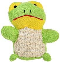 Детска гъба за баня - Жабче -