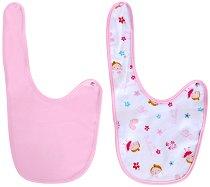 Розови лигавници - Комплект от 2 броя - продукт