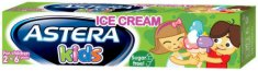 Astera Ice Cream - Детска паста за зъби с аромат на портокал и мляко - паста за зъби