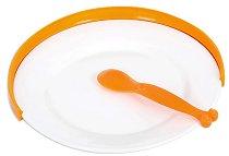 Предпазител за чиния - Цвят оранжев -