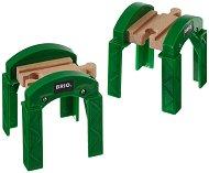 Подпори за мост - Детски играчки за разширение на релсов път - творчески комплект