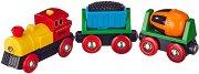 Влакче - Детска играчка със светлинни ефекти - играчка