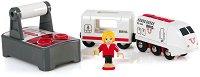 Пътнически влак с дистанционно управление - играчка