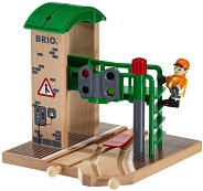 Разпределителна гара - Детска дървена играчка - играчка
