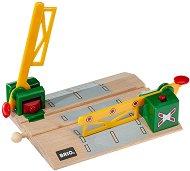 ЖП прелез - Детска дървена играчка - количка
