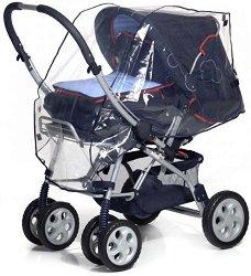 Универсален дъждобран - Аксесоар за детска количка - продукт