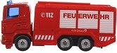 """Пожарна кола - Метална играчка от серията """"Super: Emergency rescue"""" - играчка"""