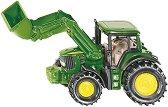 """Трактор с предно гребло - John Deere - Метална играчка от серията """"Super: Agriculture"""" - играчка"""