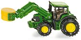 """Трактор - John Deere - Метална играчка от серията """"Super: Agriculture"""" - играчка"""