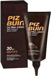Piz Buin Ultra Light Dry Touch Sun Fluid - продукт