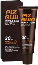 Piz Buin Ultra Light Dry Touch Face Fluid - Слънцезащитен флуид за лице - молив