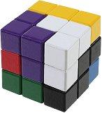 Сома куб - 3D дървен пъзел - пъзел