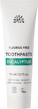 Urtekram Eucalyptus Toothpaste - Паста за зъби с масло от евкалипт, без флуорид - ролон