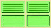 Цветни етикети за тетрадки - Комплект от 40 броя -