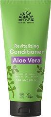 """Urtekram Aloe Vera Regenerating Conditioner - Възстановяващ био балсам за суха коса от серията """"Aloe Vera"""" - продукт"""