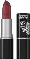 """Lavera Beautiful Lips Lipstick - Кремообразно червило от серията """"Trend Sensitiv"""" - четка"""