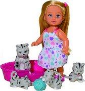 """Еви с котенца - Кукла от серията """"Steffi Love"""" - творчески комплект"""