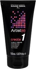 """Професионален крем за оформяне на къдрици - От серията """"Eugene Perma - Artiste Create"""" - четка"""