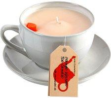Orange Blossom Tea Candle - Билкова свещ с аромат на сладък портокал -